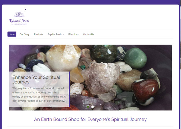 Enchanted Spirites Shop Website