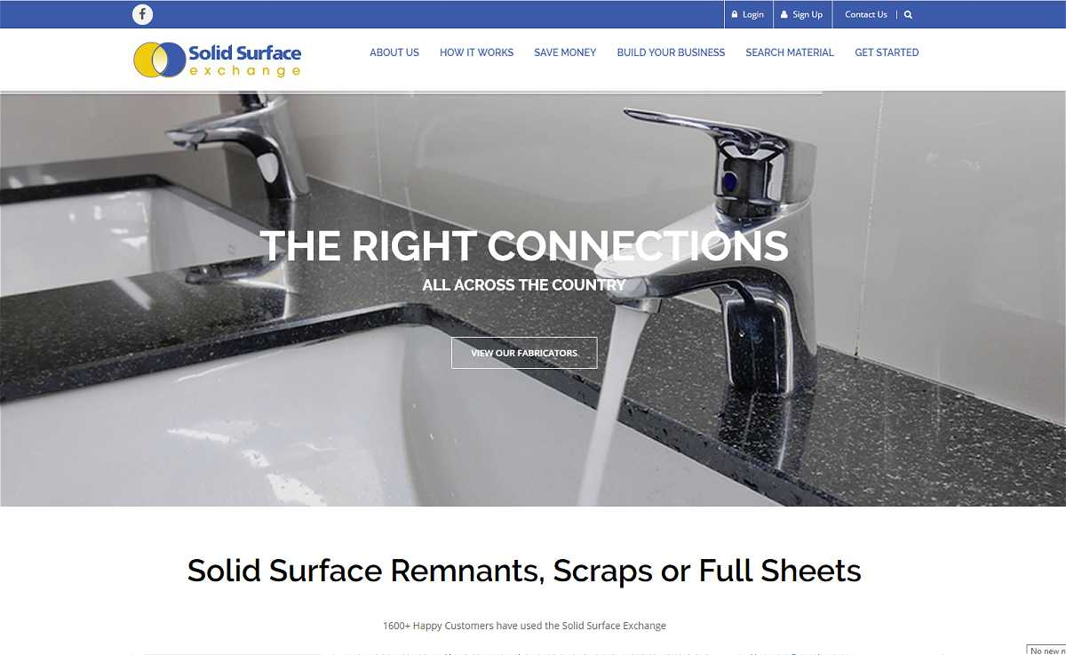 Solid Surface Exchange Website
